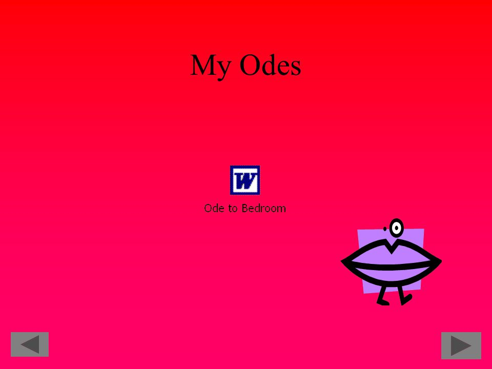 My Odes