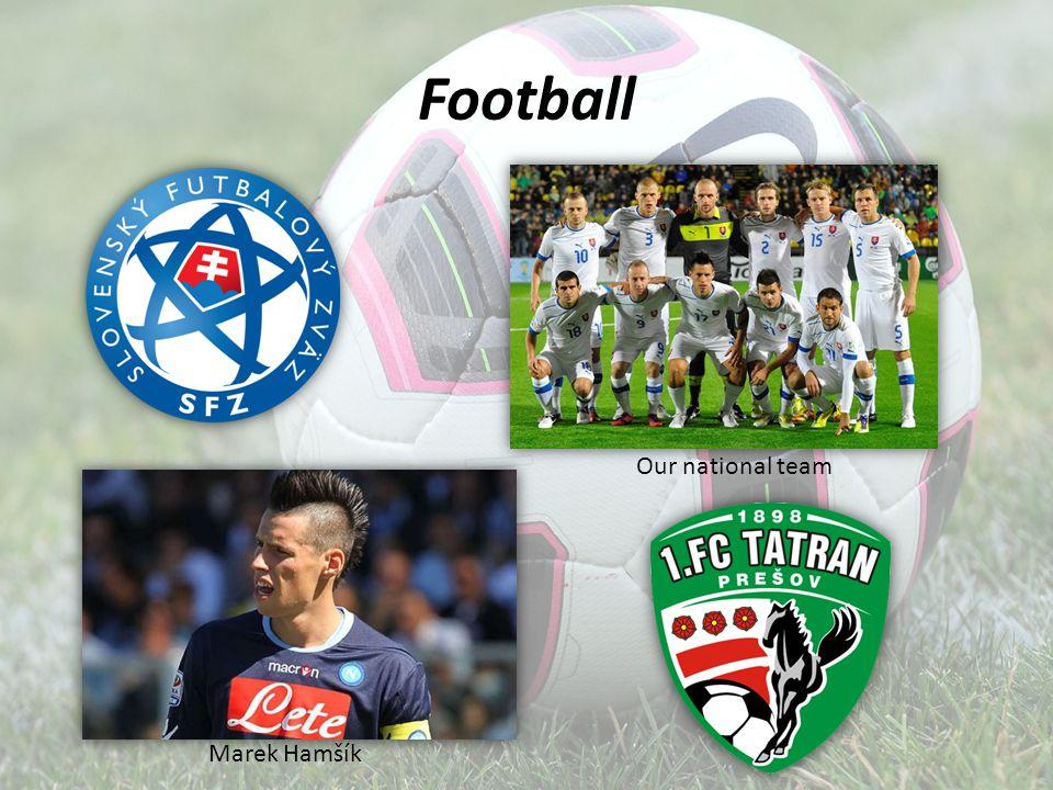Football Our national team Marek Hamšík