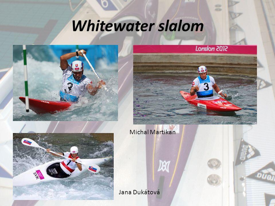 Whitewater slalom Michal Martikan Jana Dukátová