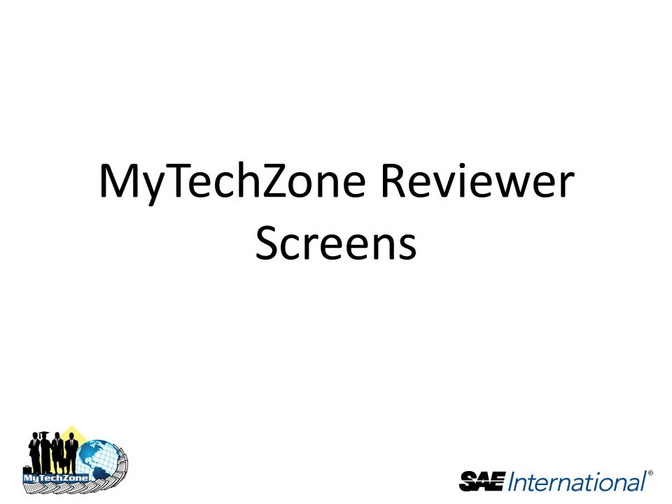MyTechZone Reviewer Screens