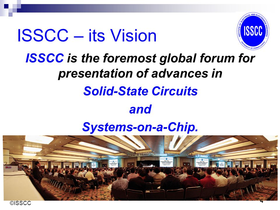 ©ISSCC 15 Introducing the topic Opening or Introduction: This should make it clear to the expert reviewer that you know your area and what others have done  Discuss the state-of-the-art in terms of what others have done recently.