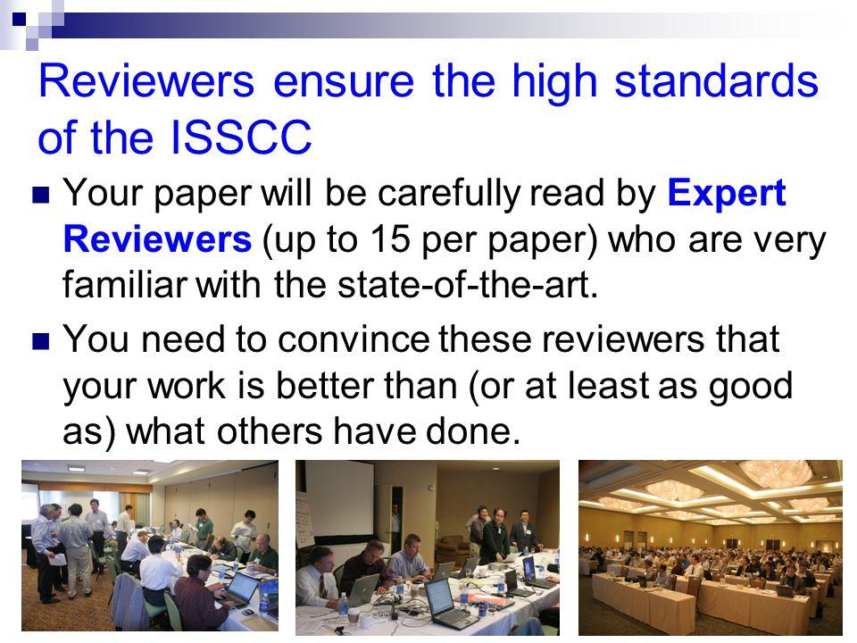 ©ISSCC 6 International Technical Program Committee (ITPC) structure Technical Program Chair Program Vice-Chair Program Secretary FE Regional CommitteeEur.