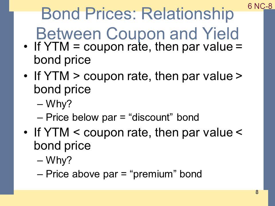 1-9 6 NC-9 9 The Bond-Pricing Equation