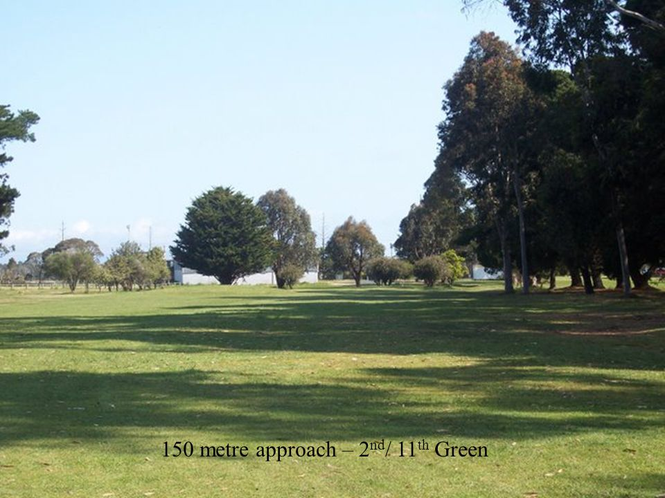6 th / 15 th Hole – View around green