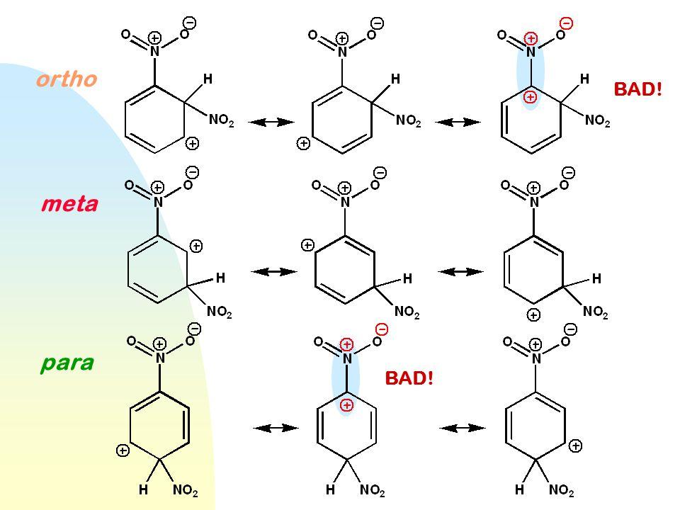 WWU -- Chemistry ortho meta para BAD!