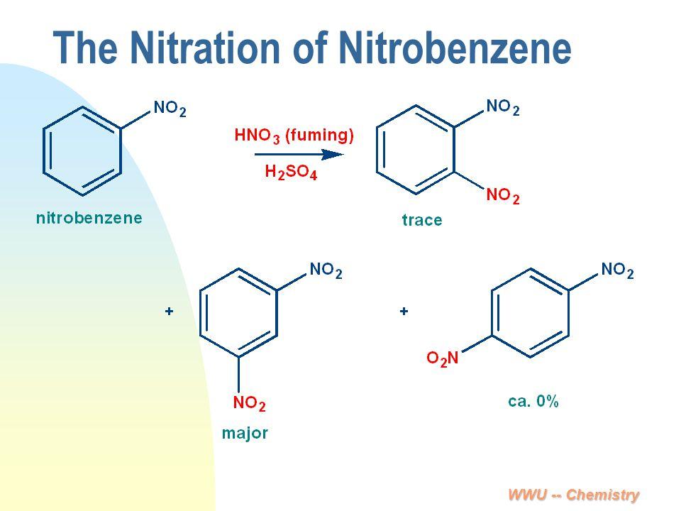 WWU -- Chemistry The Nitration of Nitrobenzene