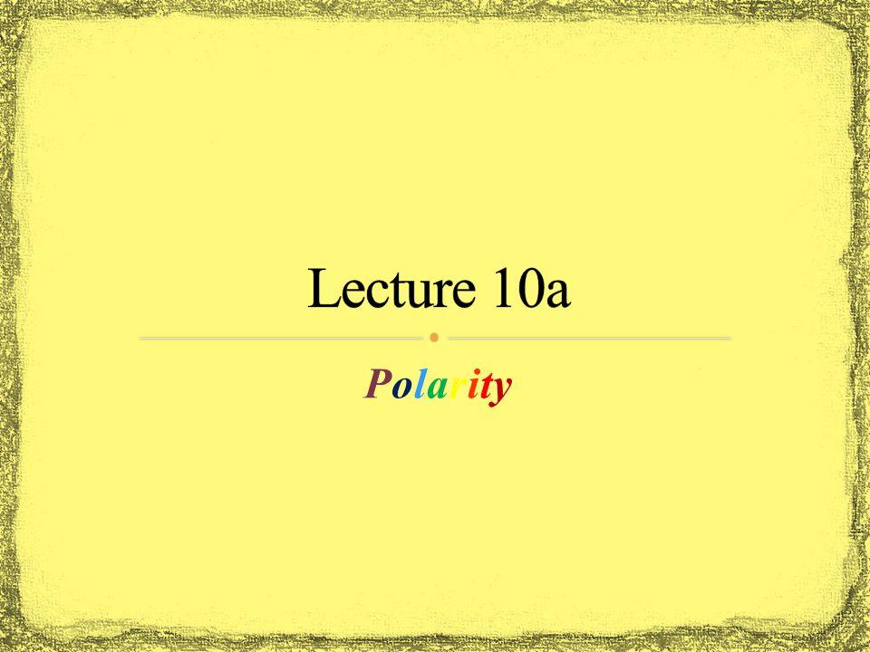 PolarityPolarity