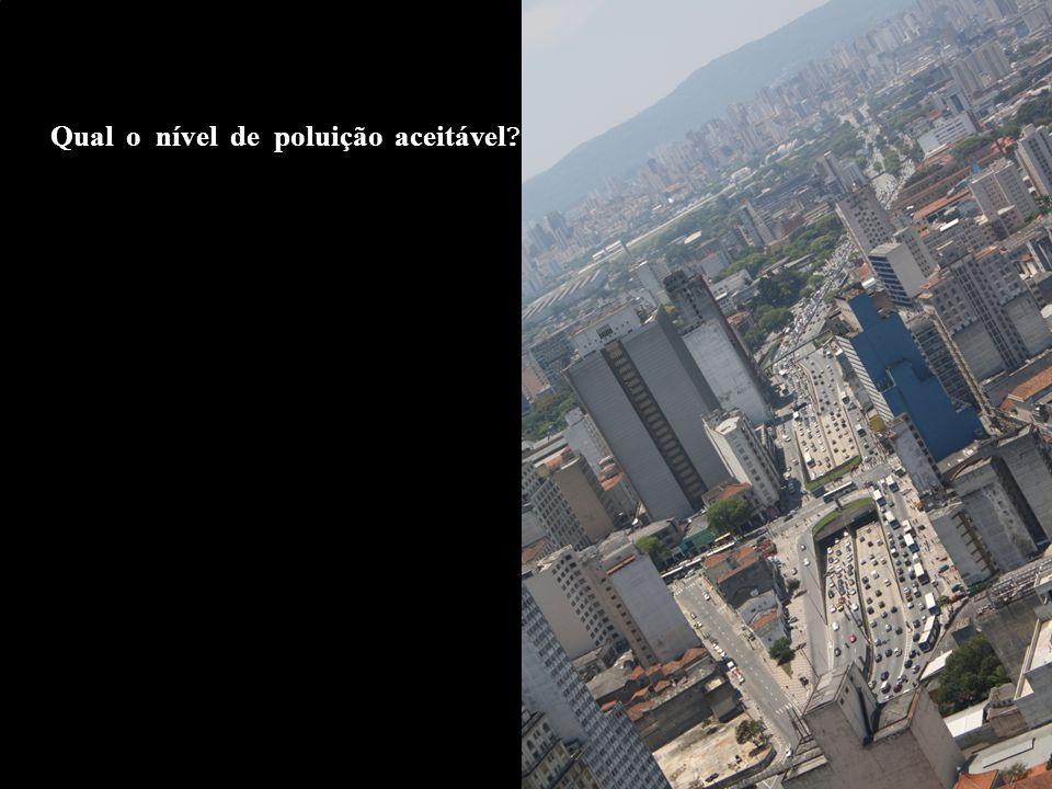 Qual o nível de poluição aceit á vel ?