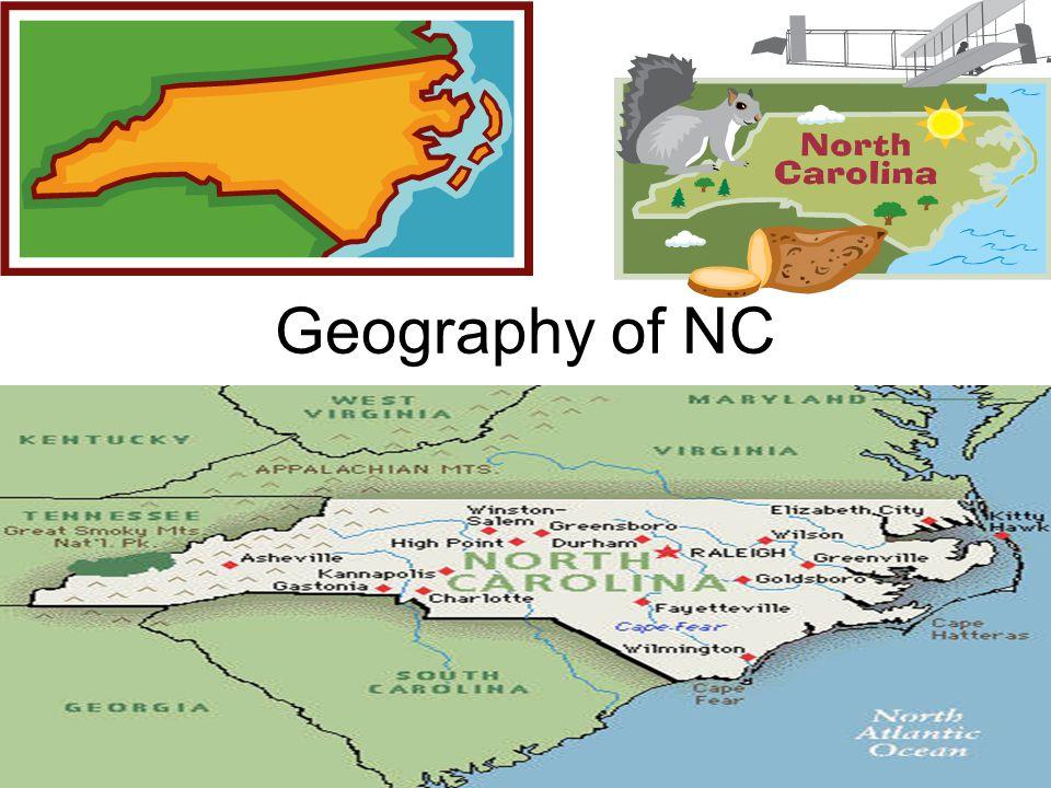 Geography of NC
