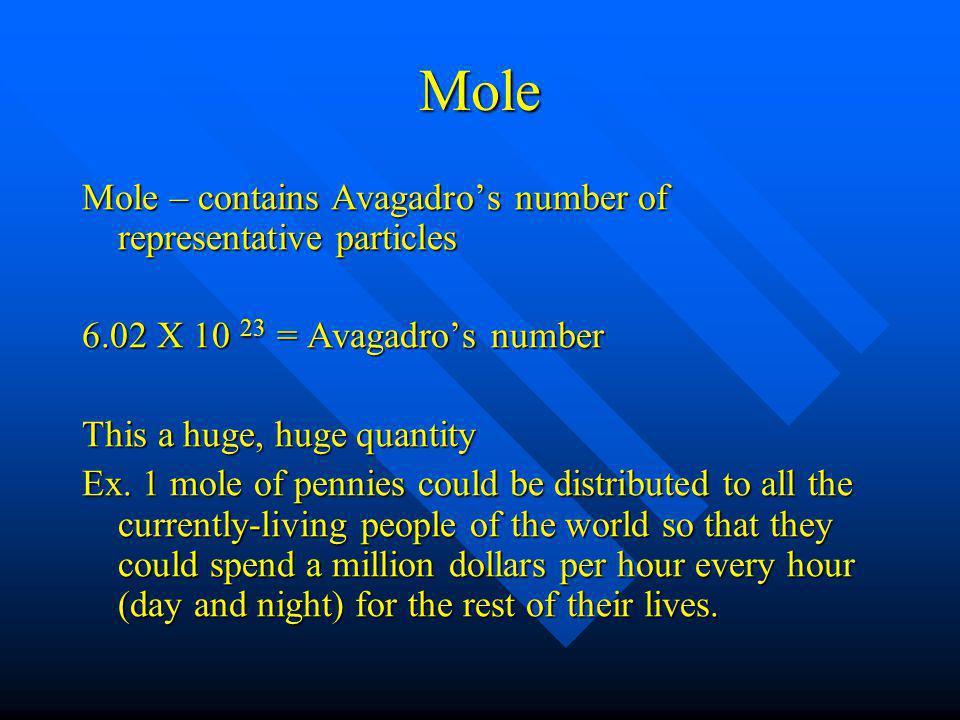 representative particles 3/14/11 representative particle can be : atom – single element (Fe atoms, N atoms) molecules – molecular compound (H 2 0, CO 2 ) formula unit (FU) – ionic compound (CaO) ion – ion (Ca 2+ )
