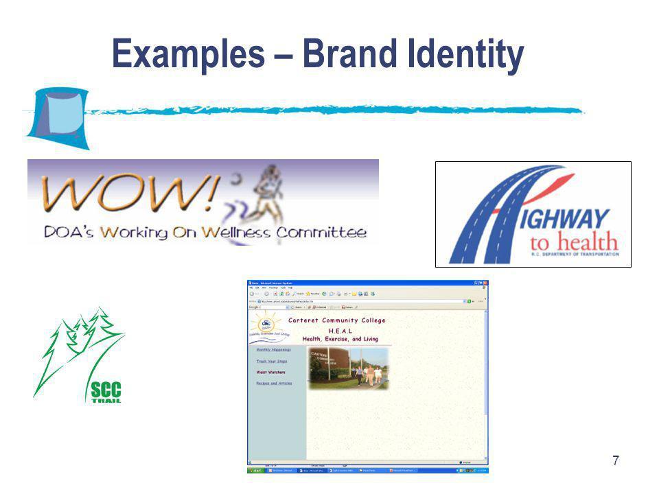 7 Examples – Brand Identity