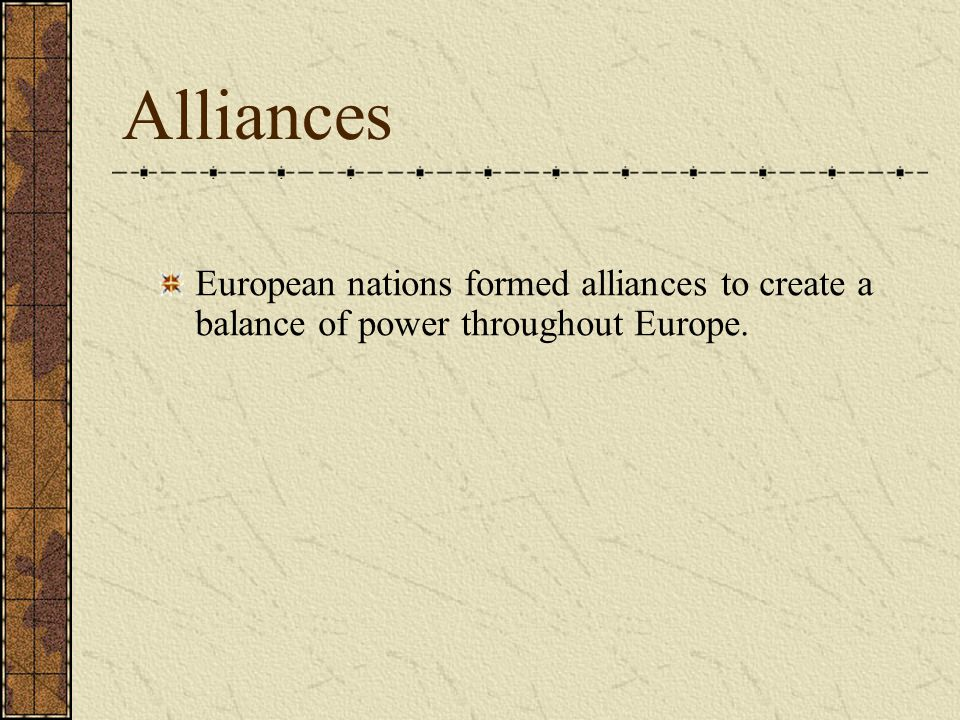 1.What 3 major European countries made up the Triple Alliance.