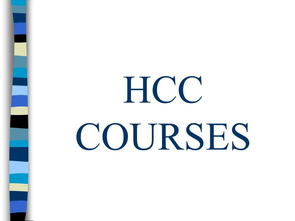 HCC COURSES
