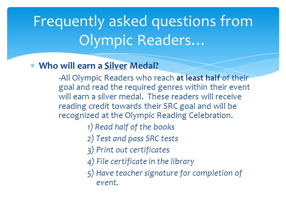  Who will earn a Silver Medal.
