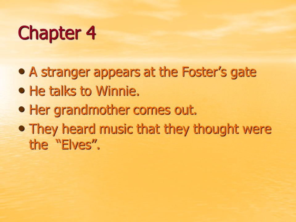 Chapter 15 TMITYS comes to the Fosters' house.TMITYS comes to the Fosters' house.