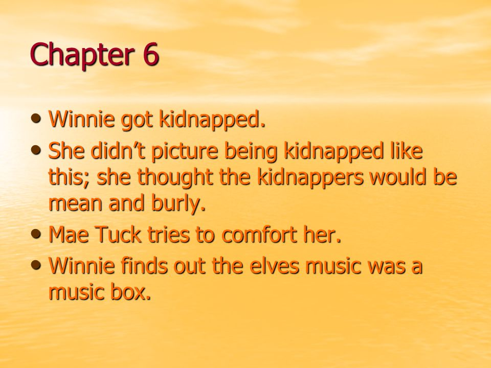 Chapter 17 Winnie wakes up early.Winnie wakes up early.