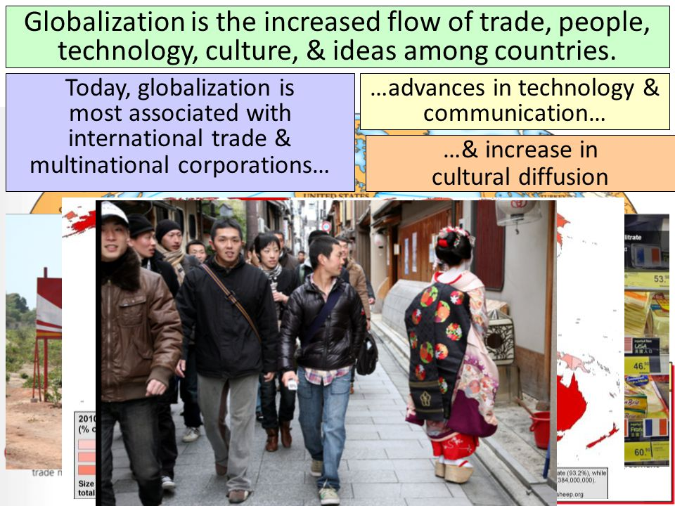 How new is globalization? What previous examples can you remember?