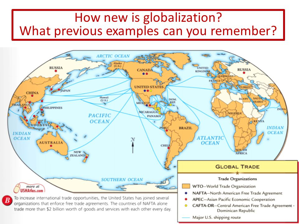 Globalization has been around for centuries but has been rapidly increasing since 1990