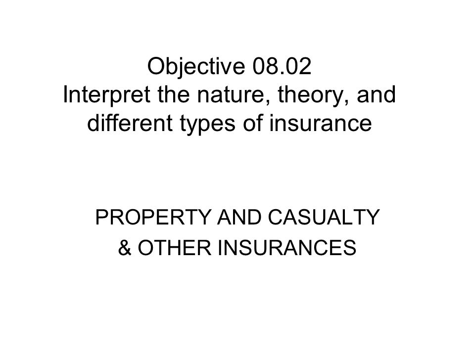 Cost Factors of Property Insurance Limit of coverage for property Location of property – fire district, city, county, state Structural material - brick, block, frame Previous claims filed Company