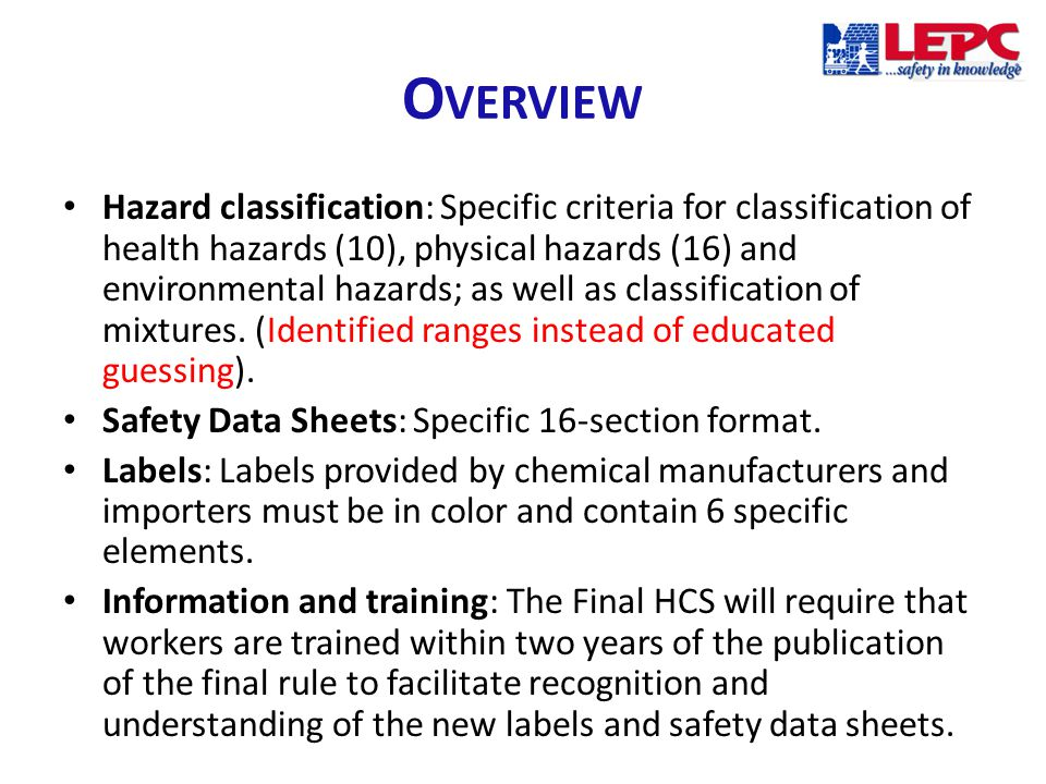 Section 7, Handling and storage lists precautions for safe handling and storage, including incompatibilities.