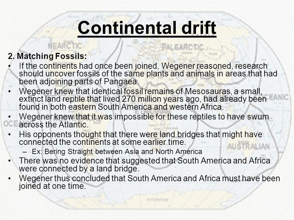 Continental drift 2.