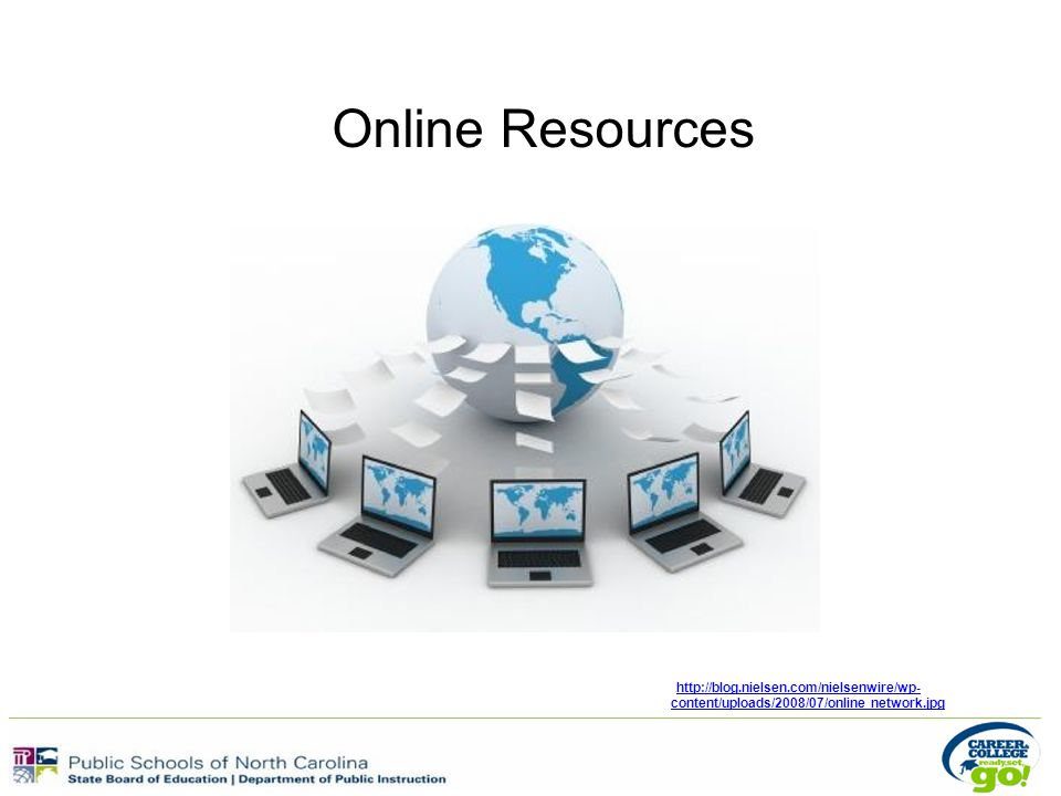 Online Resources http://blog.nielsen.com/nielsenwire/wp- content/uploads/2008/07/online network.jpg