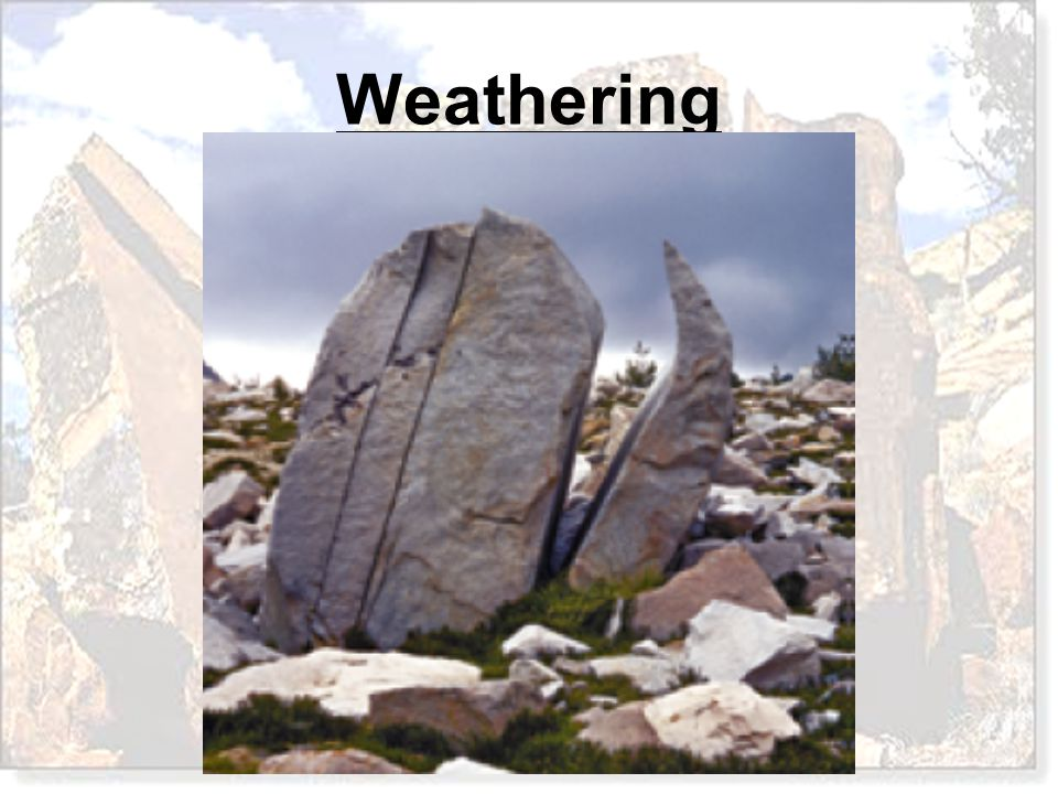 The gradual rounding of the corners and edges of angular blocks of rock is called A.Exfoliation B.Unloading C.Spheroidal Weathering D.Mechanical Weathering