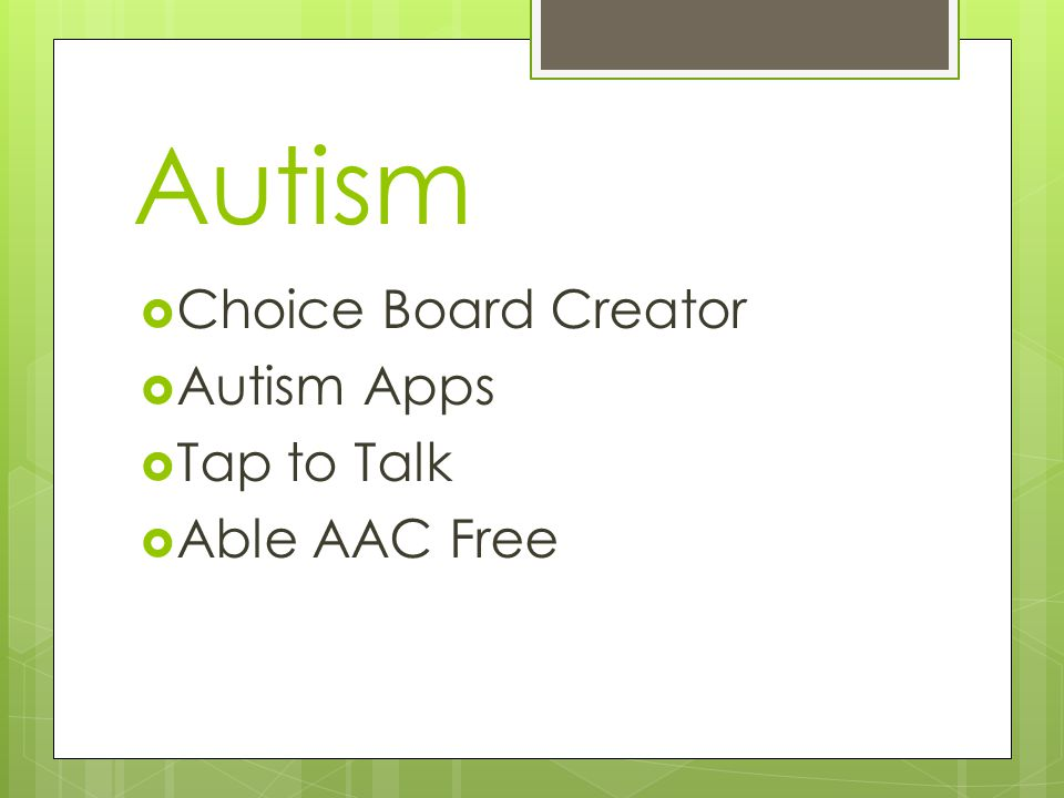 Autism  Choice Board Creator  Autism Apps  Tap to Talk  Able AAC Free