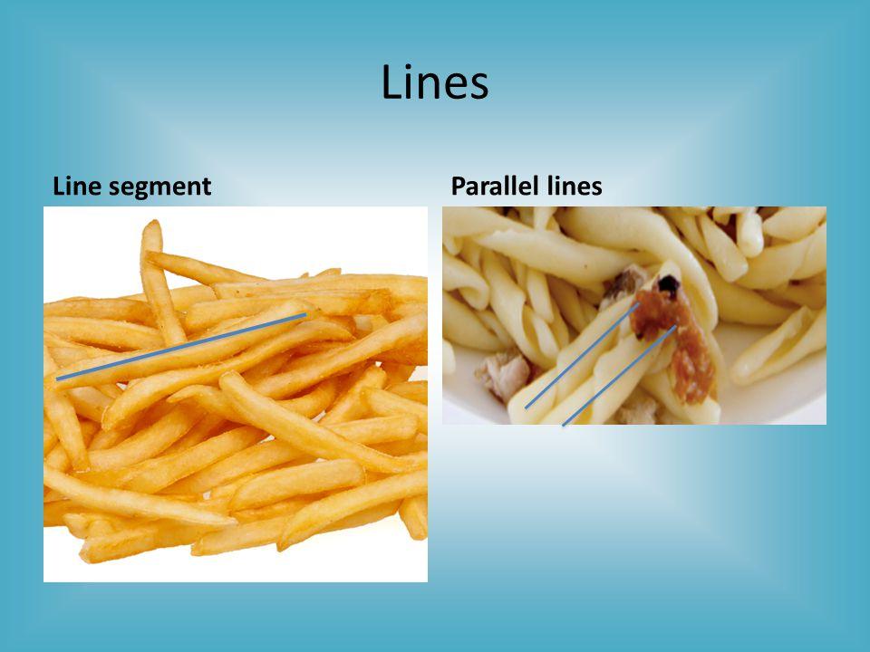 Lines Line segmentParallel lines