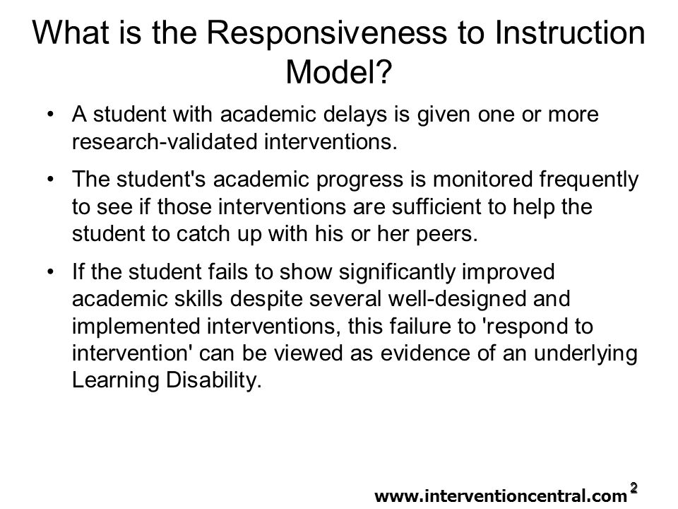 Instruction Instruction: –Manner in which teacher uses curriculum – consider instructional techniques, presentation style, questioning, feedback techniques.