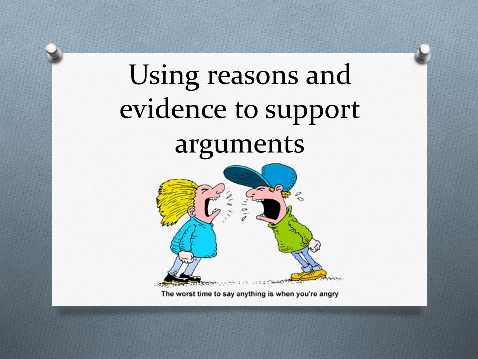 By the end of this lesson, you will be able to… RI.5.8 Explain how an author uses reasons and evidence to support particular points in a text, identifying which reasons and evidence support which point(s).