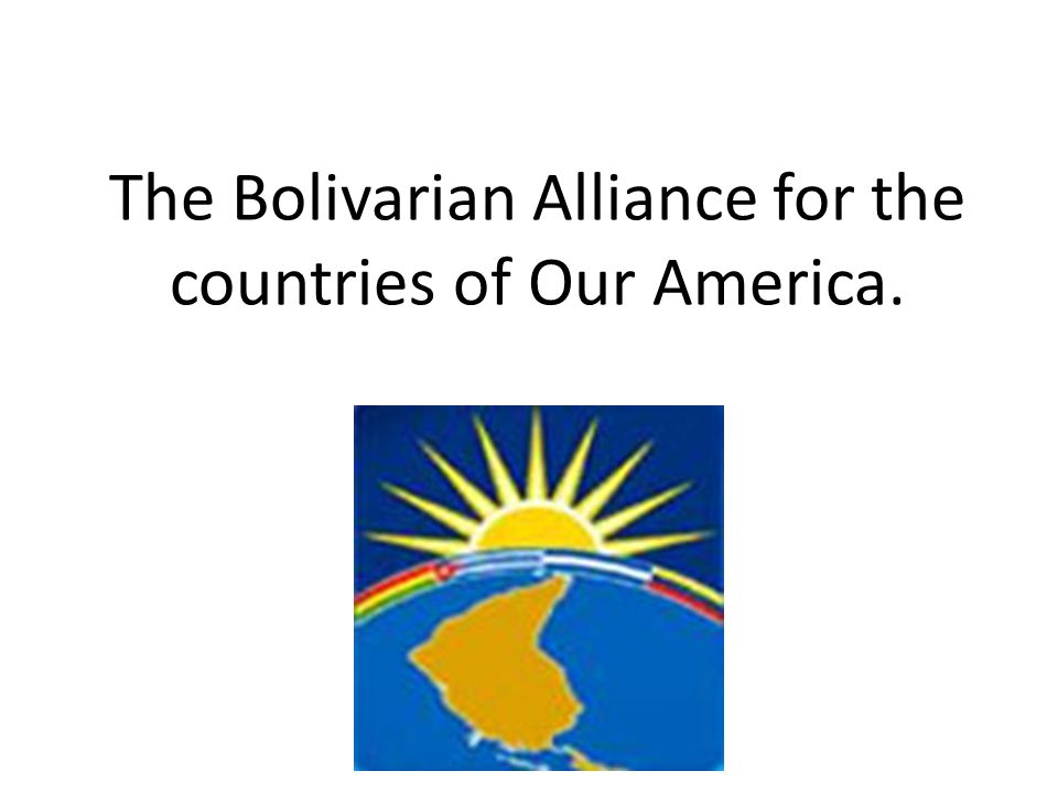 ALBA Birth and Implementation The proposal was created for the first time by the President of the Bolivarian Republic of Venezuela, Hugo Chávez, within the framework of the III Summit of Heads of State and Government of the Association of Caribbean States, in December 2001.