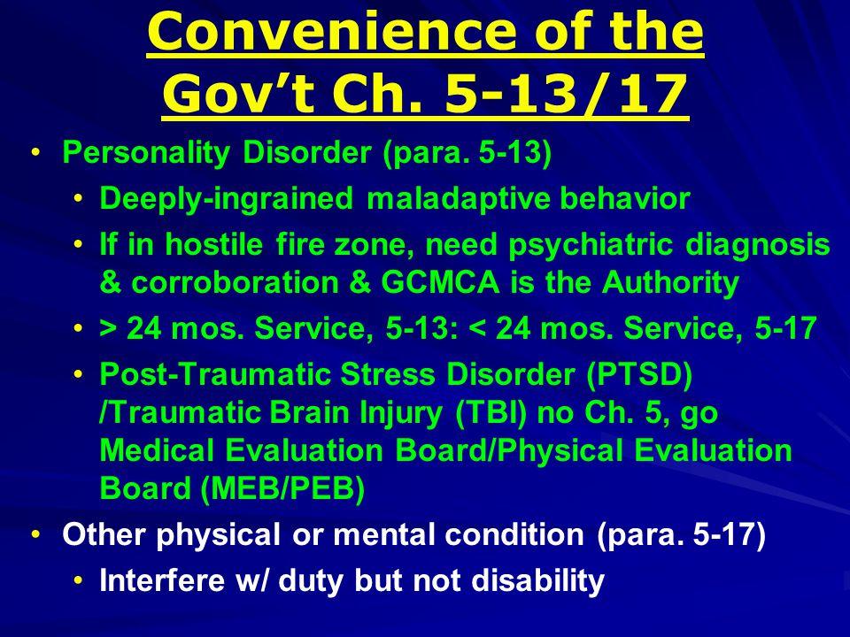 Personality Disorder (para.