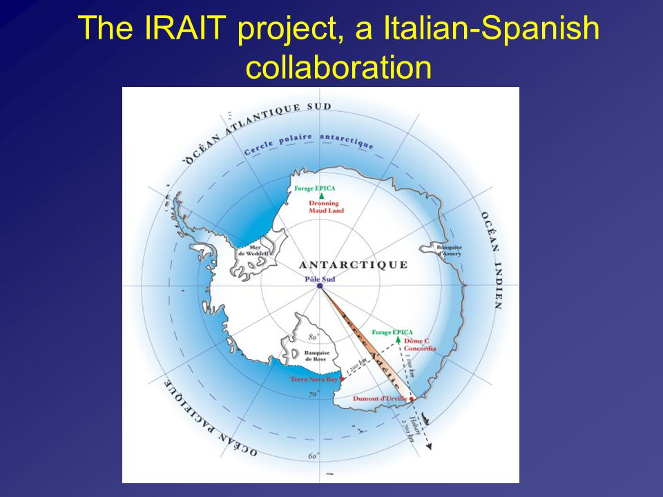 The IRAIT project, a Italian-Spanish collaboration