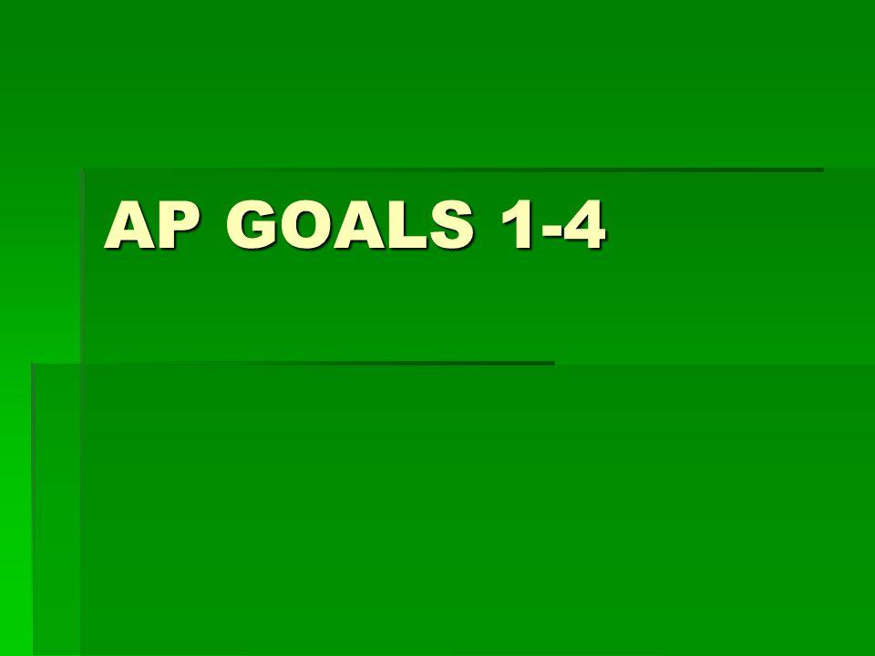 AP GOALS 1-4
