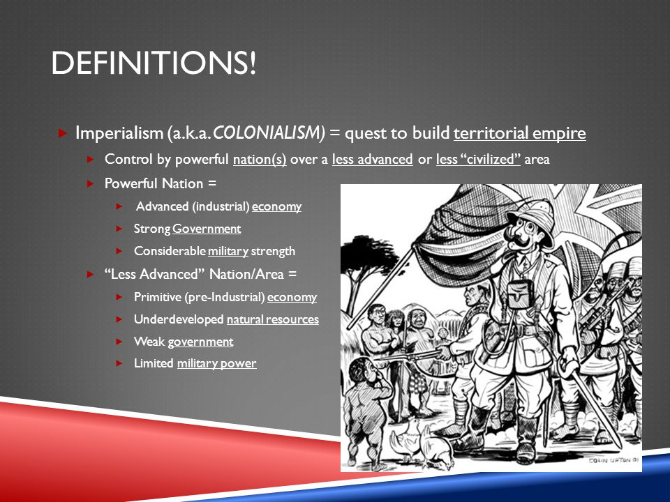 BACKGROUND. Why U.S. Imperialism.  Response to European Imperialism  Why.