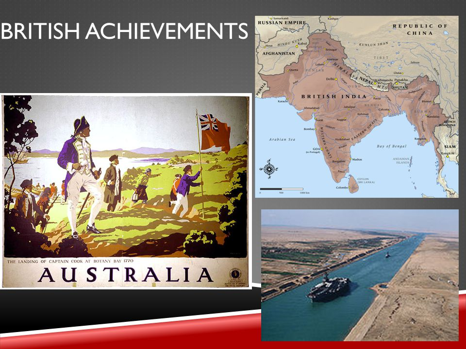 BRITISH ACHIEVEMENTS