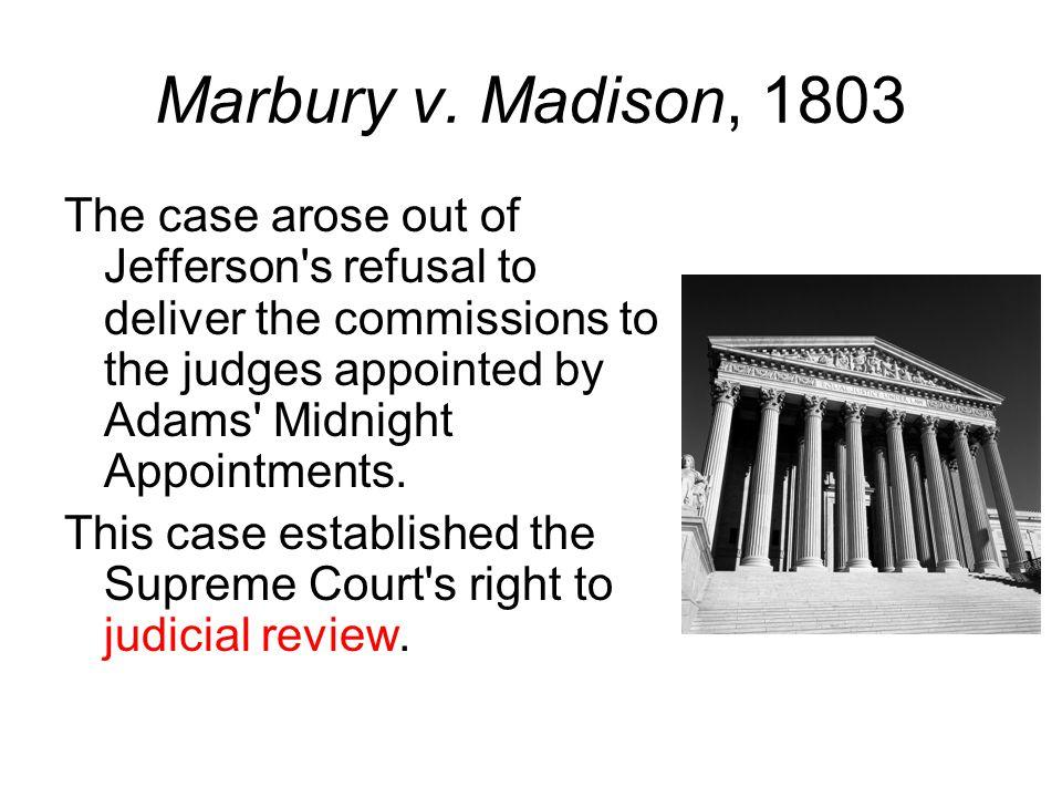 Marbury v.