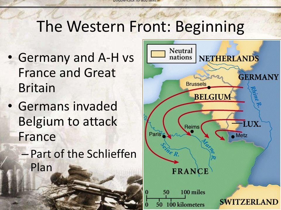 What is the Schlieffen Plan.