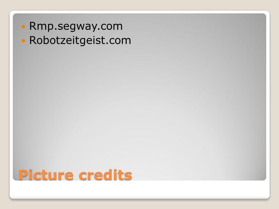 Picture credits Rmp.segway.com Robotzeitgeist.com