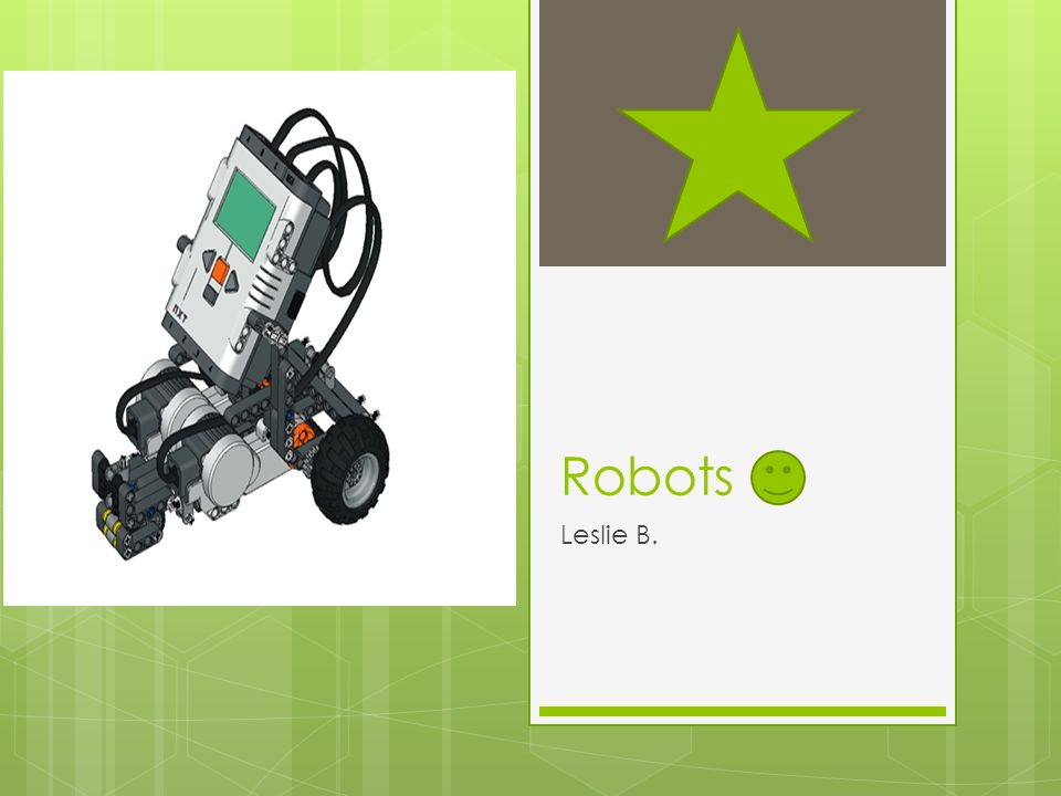 What is a robot? A robot is a machine that is capable of doing many kinds of actions.