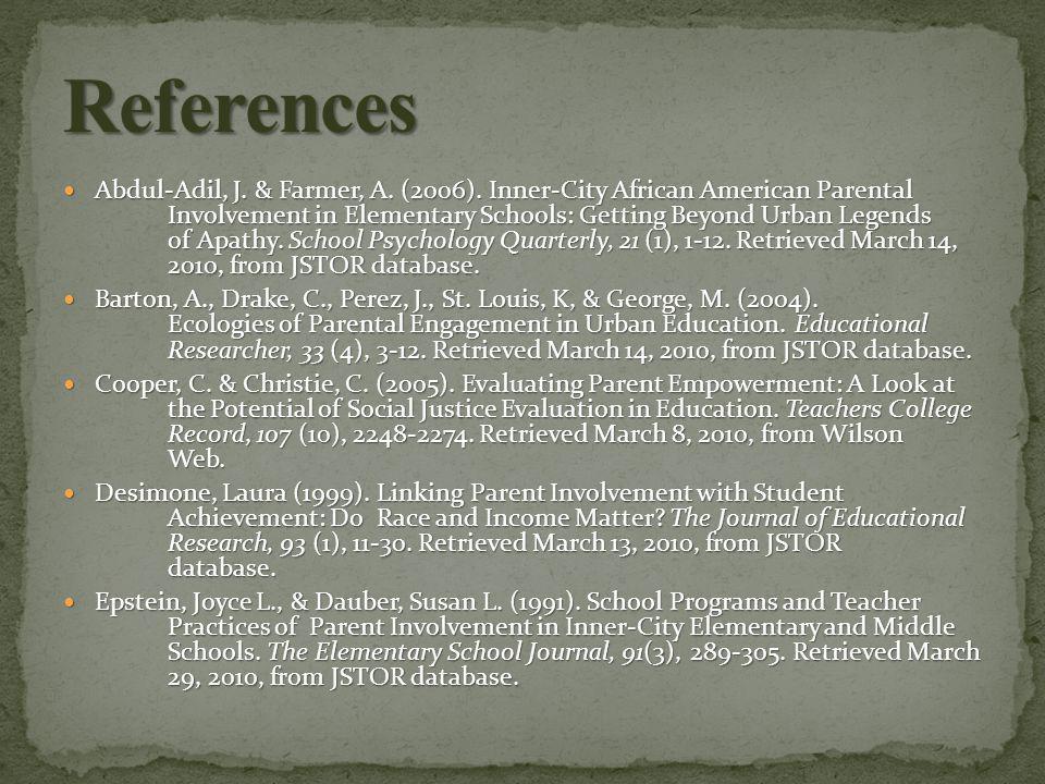 Abdul-Adil, J. & Farmer, A. (2006).