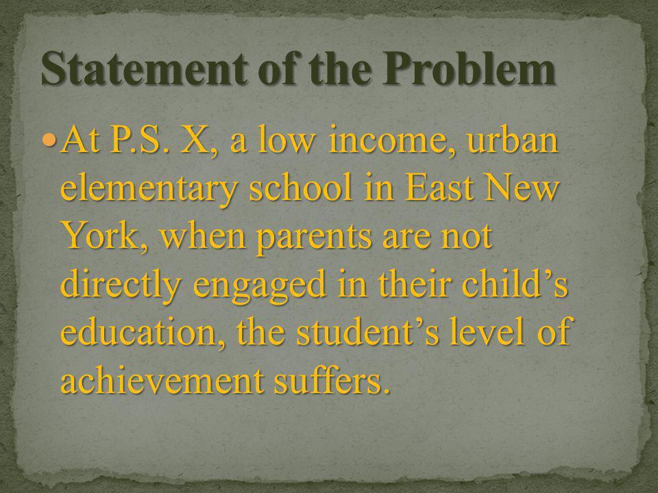 Joyce Epstein, Ph.D., of Johns Hopkins University, has developed a framework for defining six different types of parent involvement: Joyce Epstein, Ph.D., of Johns Hopkins University, has developed a framework for defining six different types of parent involvement: 1.