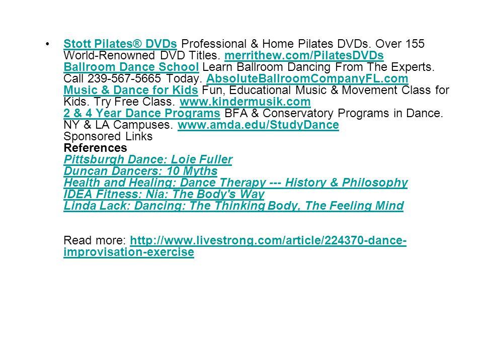 Stott Pilates® DVDs Professional & Home Pilates DVDs.