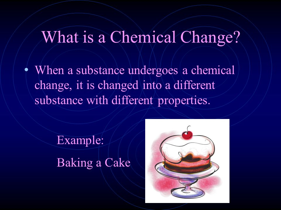 5 Signs of a Chemical Change 1. Color Change 2. Precipitation