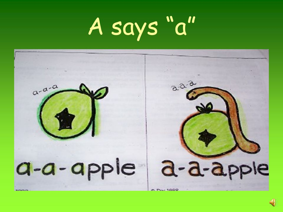 Letter sounds This activity is for use by Craven County Schools only.