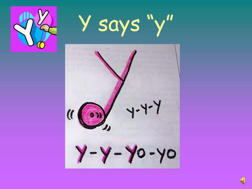 X says x