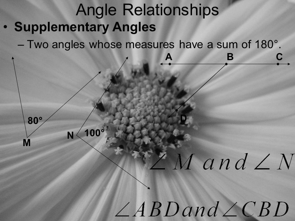 Angle Measures Find the measure of two complementary angles if the difference of the measures is 12.