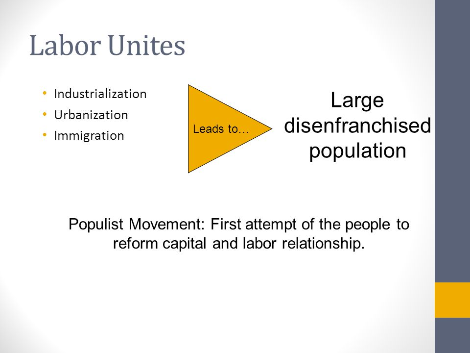 Unionization in 20 th Century America ► An organized association of workers formed to protect andfurther their rights and interests.