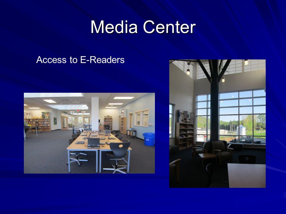 Media Center Access to E-Readers
